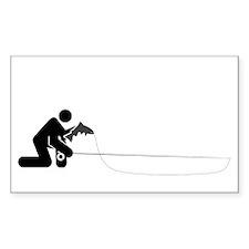 """""""Universal Angler"""" Rectangle Decal"""