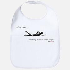 Life is Short Swimming Bib