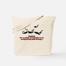 Socially Acceptable Tote Bag