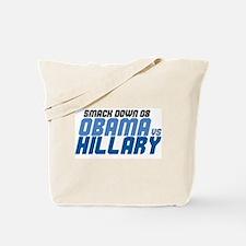 OBAMA v HILLARY Tote Bag