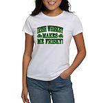 Irish Whiskey Makes Me Friskey Women's T-Shirt