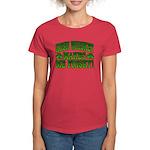 Irish Whiskey Makes Me Friskey Women's Dark T-Shir