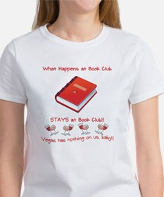 #1 Book Club Rule Tee