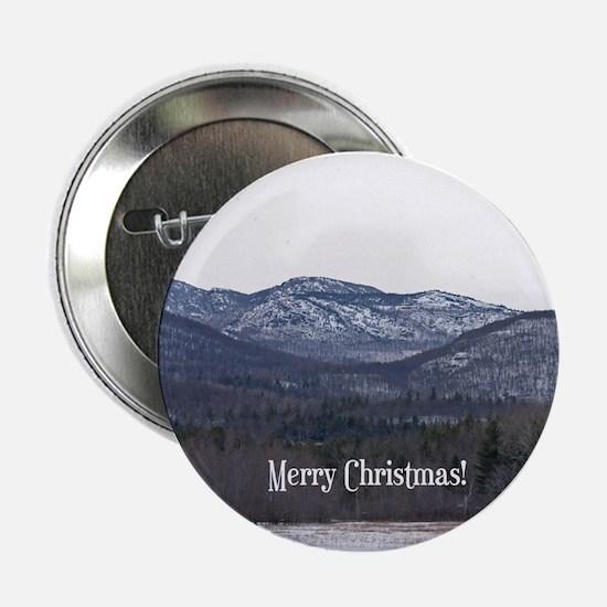 "Adirondack Christmas 2.25"" Button"