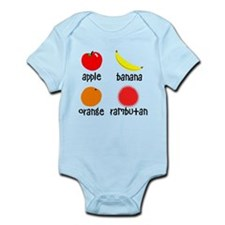 Fruit for Smart Babies Infant Bodysuit