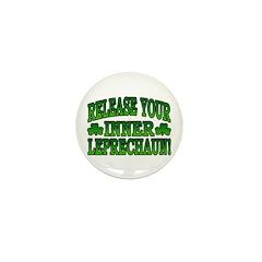 Release You Inner Leprechaun Mini Button (10 pack)