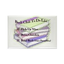 Book Club To Do Rectangle Magnet (10 pack)