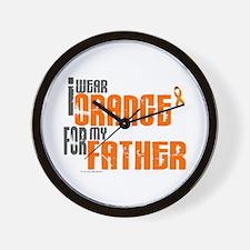 I Wear Orange For My Father 6 Wall Clock