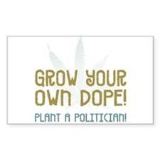 Grow Your Own - Rectangle Decal