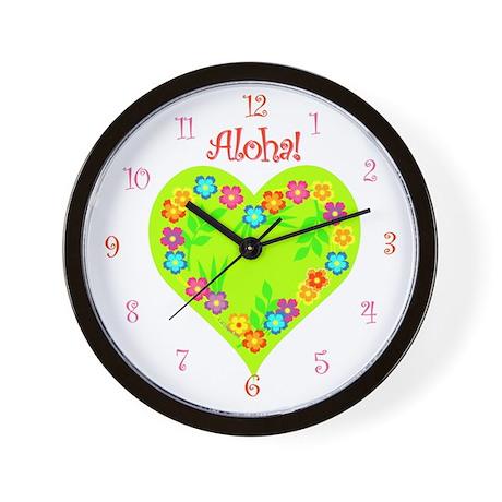 Aloha! Summer Tropical- Wall Clock