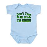 Don't Tase Me Bro I'm Irish Infant Bodysuit
