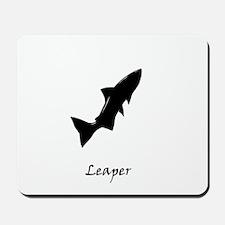 lone salmon Mousepad
