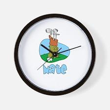 Nate Wall Clock