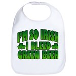 I'm So Irish I Bleed Green Beer Bib