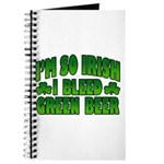 I'm So Irish I Bleed Green Beer Journal