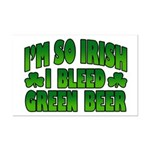 I'm So Irish I Bleed Green Beer Mini Poster Print