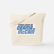 OBAMA v McCAIN Tote Bag