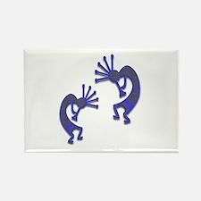 Two Kokopelli #101 Rectangle Magnet (10 pack)