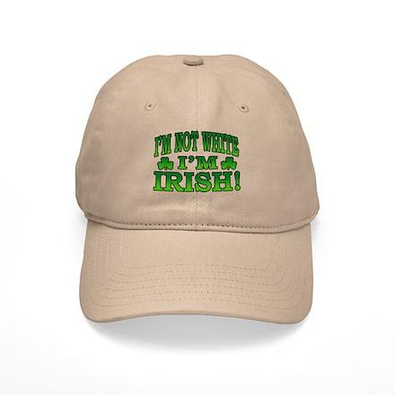 I'm Not White I'm Irish Baseball Cap