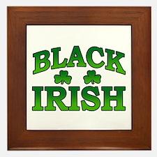Once You go Irish You Never Go Back Framed Tile
