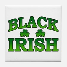 Once You go Irish You Never Go Back Tile Coaster