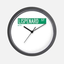 Lispenard Street in NY Wall Clock