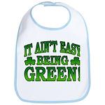 It Ain't Easy being Green Bib