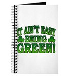 It Ain't Easy being Green Journal