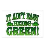 It Ain't Easy being Green Postcards (Package of 8)