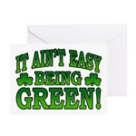 It Ain't Easy being Green Greeting Cards (Pk of 10