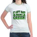 It Ain't Easy being Green Jr. Ringer T-Shirt