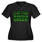 It Ain't Easy being Green Women's Plus Size V-Neck