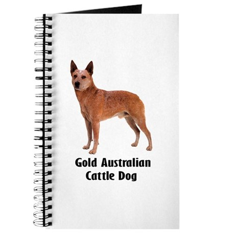 Gold Australian Cattle Dog Journal