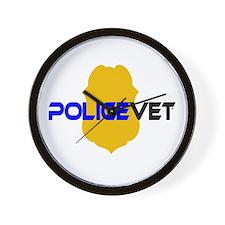 Policevet Wall Clock