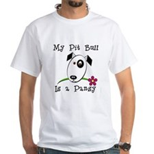 Pansy Pit Bull Shirt