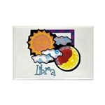 Libra sun moon Rectangle Magnet (10 pack)