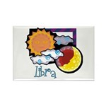 Libra sun moon Rectangle Magnet (100 pack)