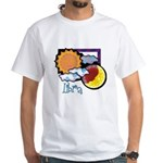 Libra sun moon White T-Shirt