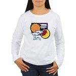 Libra sun moon Women's Long Sleeve T-Shirt