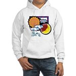 Libra sun moon Hooded Sweatshirt