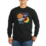 Libra sun moon Long Sleeve Dark T-Shirt