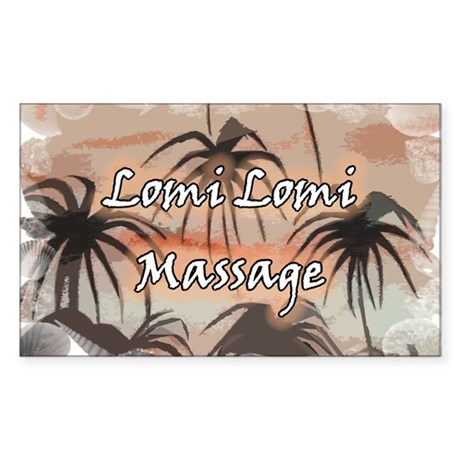 lomi lomi massage rectangle decal by lomimassage. Black Bedroom Furniture Sets. Home Design Ideas