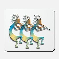 Three Kokopelli #101 Mousepad