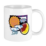 Leo sun moon Mug