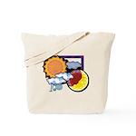 Leo sun moon Tote Bag