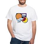 Leo sun moon White T-Shirt