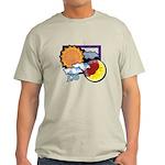 Leo sun moon Light T-Shirt