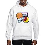 Leo sun moon Hooded Sweatshirt