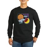 Leo sun moon Long Sleeve Dark T-Shirt