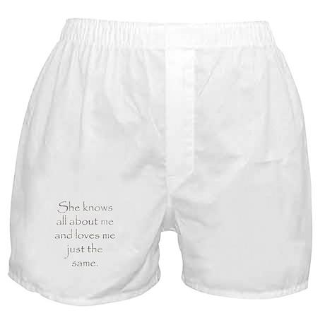 Loves me Boxer Shorts